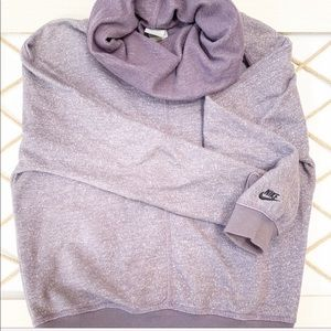 Nike Purple Cowl Neck Sweater (S)